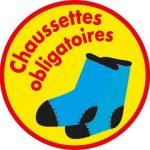 chaussettes obligatoires