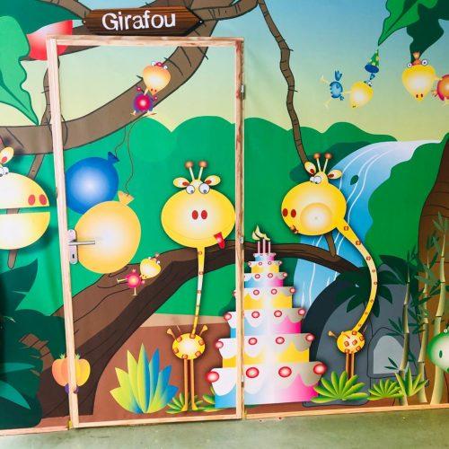 Salle anniversaire Girafou