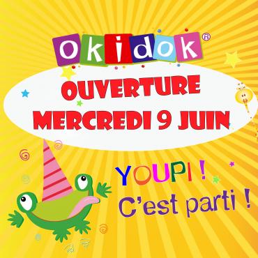 Notre parc ouvrira ses portes Mercredi 9 Juin!